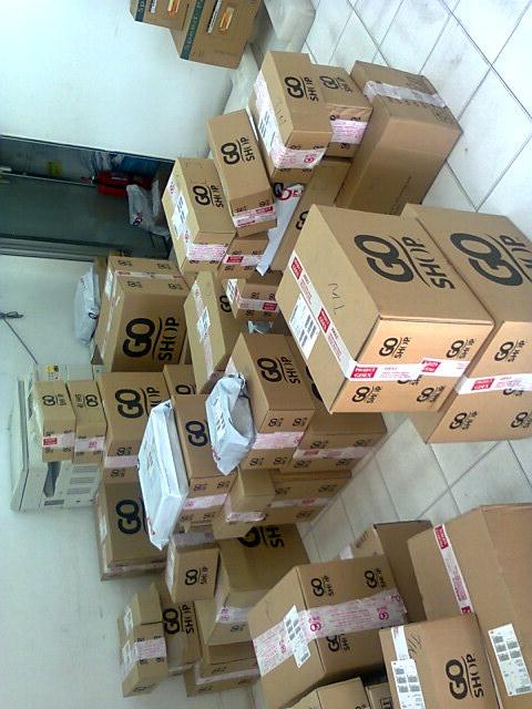 Giao nhận hàng hóa xuất khẩu đi Nhật