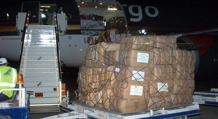 Hoạt động giao nhận hàng hóa tại sân bay Nội Bài