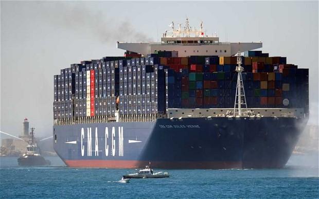 Vận chuyển container hàng hóa đi Canada