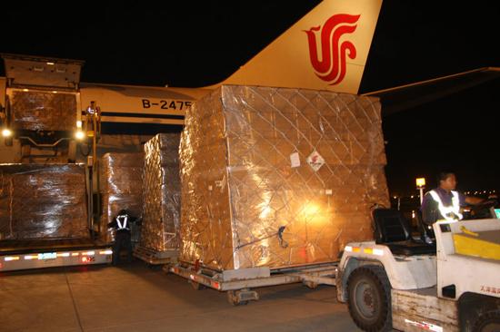 Dịch vụ vận chuyển hàng không của MLC