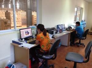Văn phòng quản lý kho bãi của MLC
