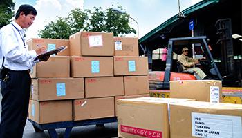 Dịch vụ vận chuyển hàng hóa nhập khẩu