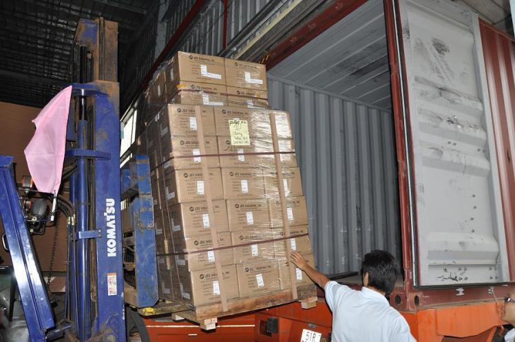 Giao nhận hàng hóa xuất nhập khẩu bằng đường biển