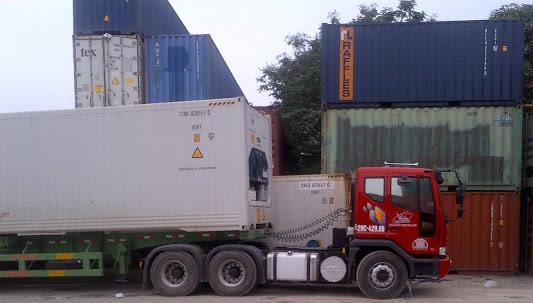 Dịch vụ vận tải hàng hóa container nhập khẩu của MLC