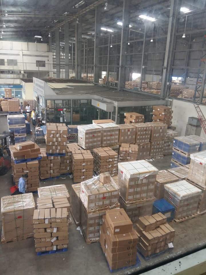 Kho hàng hóa tại Sân bay quốc tế Nội Bài