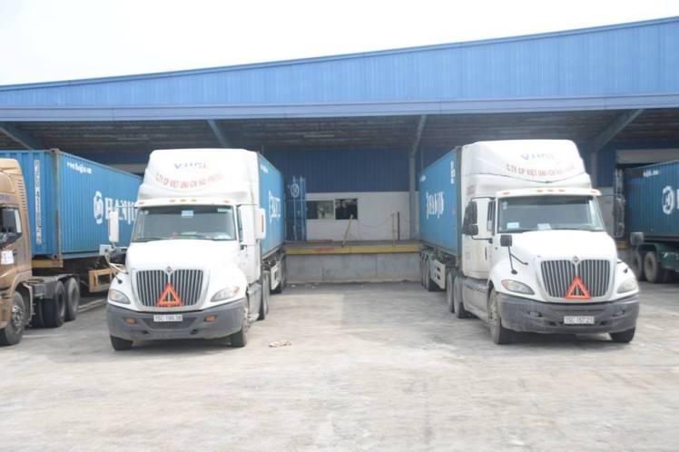 Dịch vụ vận tải hàng hóa bằng container của MLC